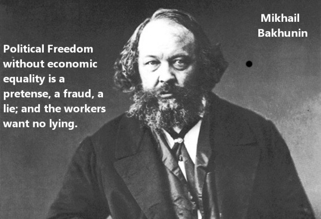 Bakhunin Freedom Without Equality