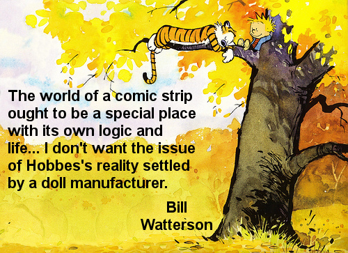 Commercial Quotes Captivating Bill Watterson Quotes Commercial