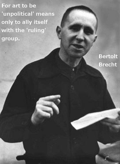 Brecht quotes art