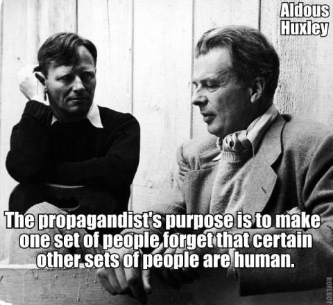 Huxley on Propaganda