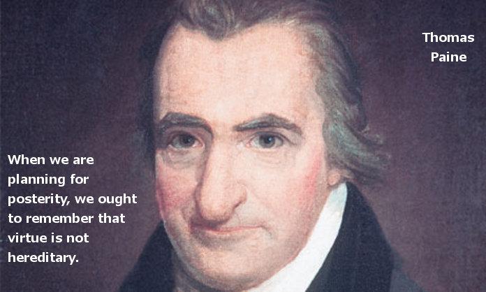 Thomas Paine Quotes Virtue