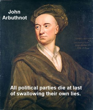 Arbuthnot quotes politics and lies