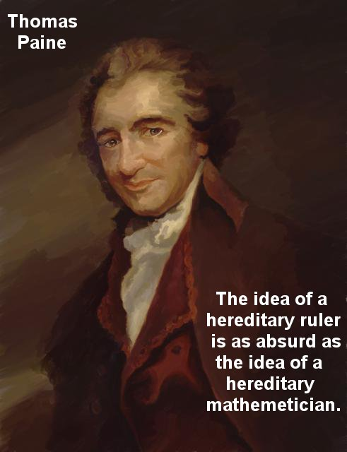 Thomas Paine Royalty