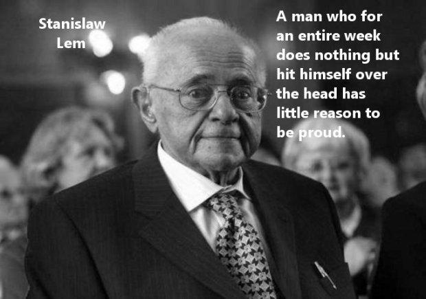 Stanislaw Lem quotes hit
