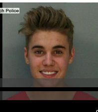 Bieber mug shot