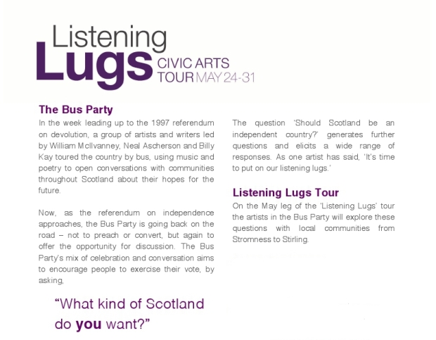 Bus Party Press Release 1