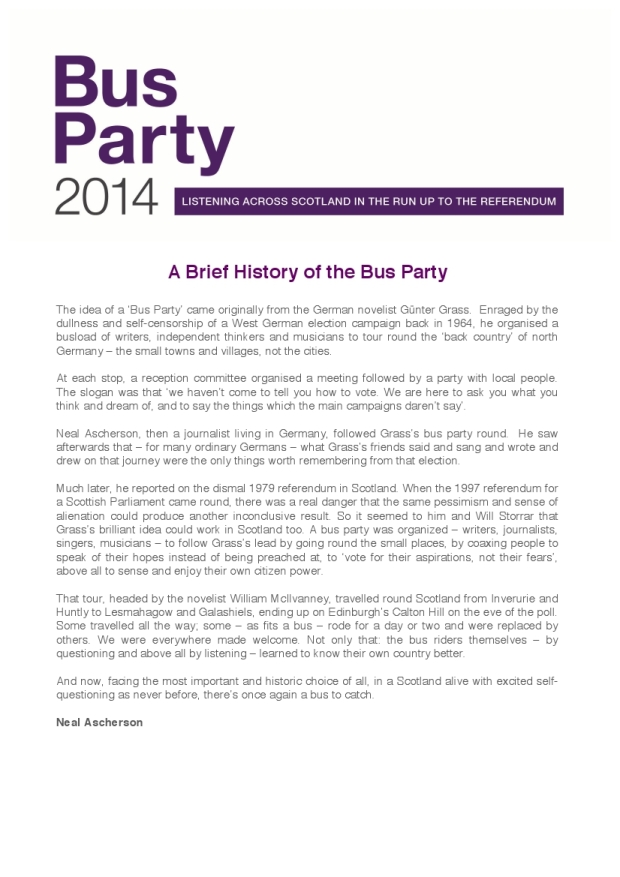 Bus Party Press Release 4