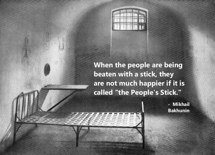 Bakhunin people's stick