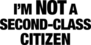 second-class-citizen-sign