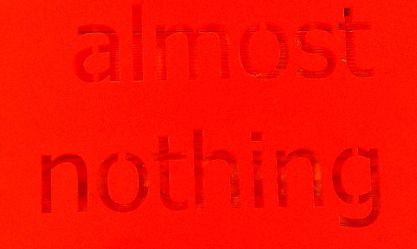 almost-nothing