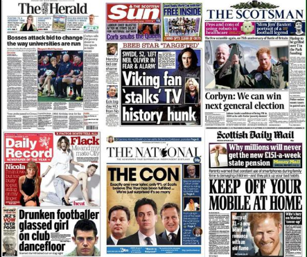 FireShot Screen Capture #164 - 'Gary Dunion on Twitter_ _The UK and Scottish front pages this morning are something of a contrast_ #godsavethequeengate http___t_co_swJcj4wxzs_' - twitter_com_garydunion_status_644045